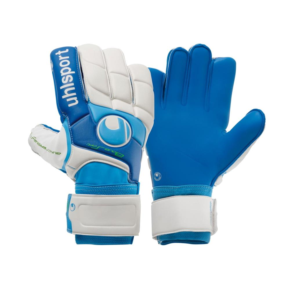Fangmaschine Aqua Soft Goal Keepers Gloves - Uhlsport - Blue/White