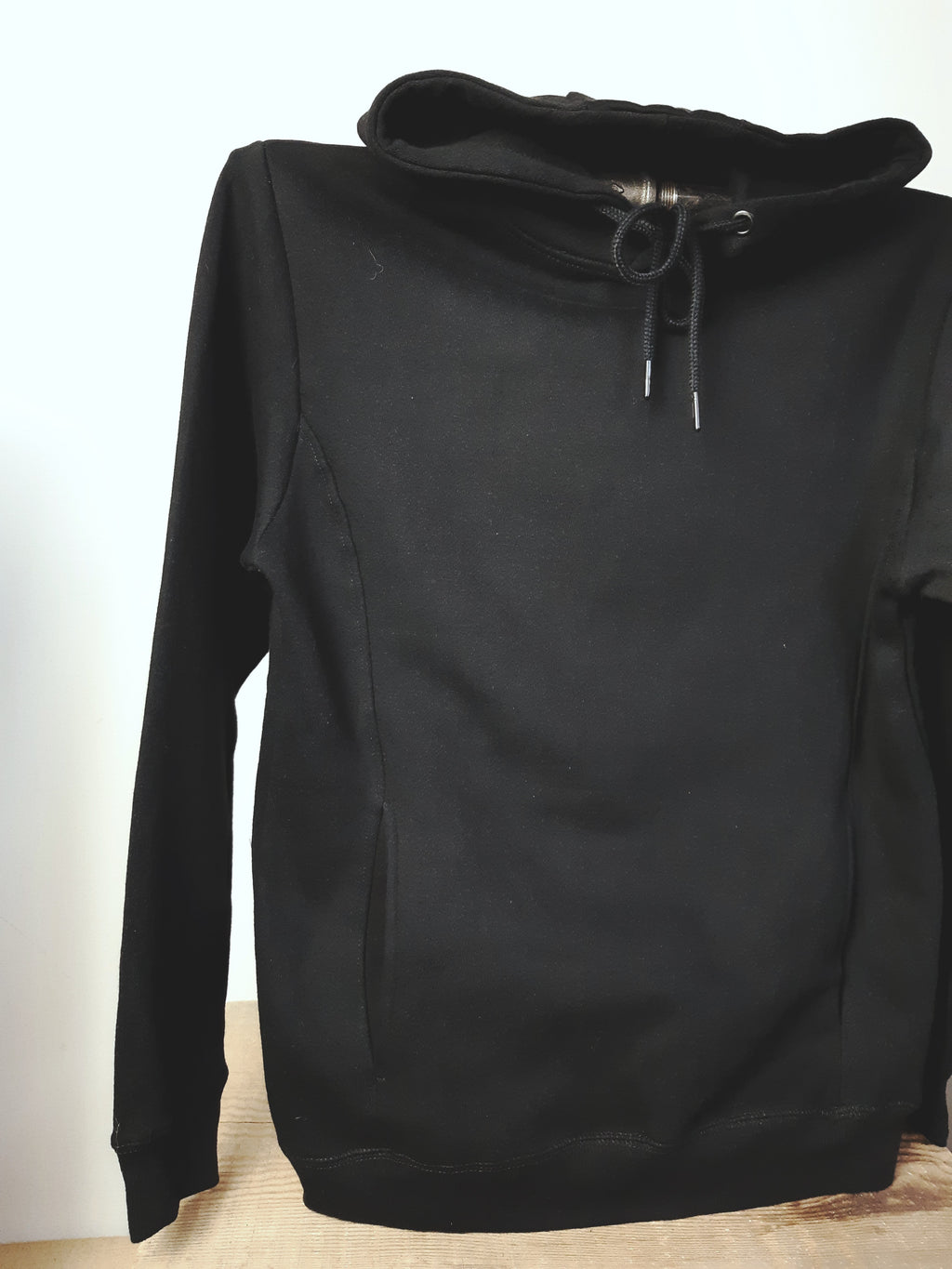 Custom Step Up Hoodie Black