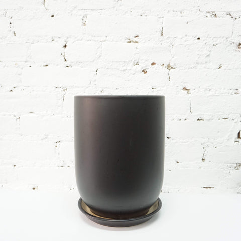 336-Curved Cylinder Ceramic Planter - Dahing Plants