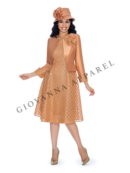2pc Silky Twill Jacket + Lace Dress - Plus Size