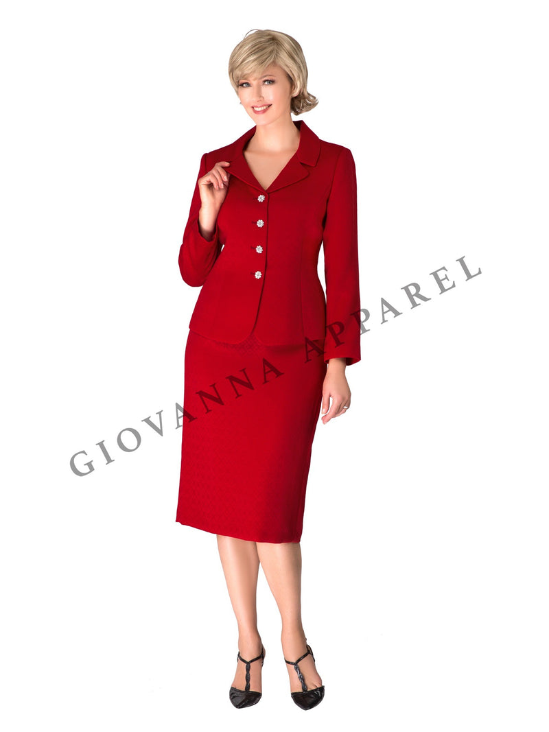 2pc Vintage Notch Collar 4-button Suit-Plus size