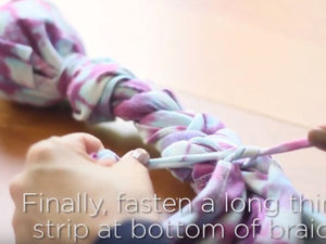 DIY Foxtail Braid Toy