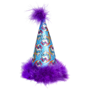 Huxley & Kent Dog Party Hat - Unicorns
