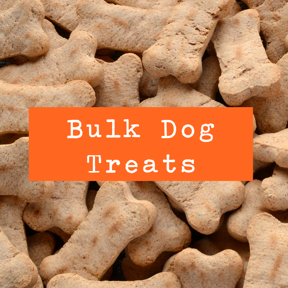 Petwell Supply Bulk Dog Treats - Mix & Match by the ounce (99 cents/oz)