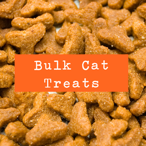Petwell Supply Bulk Cat Treats - Mix & Match by the ounce (99 cents/oz)