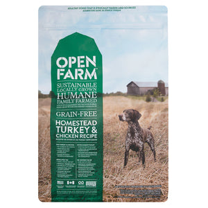 Open Farm - Grain-Free Homestead Turkey and Chicken Dry Dog Food