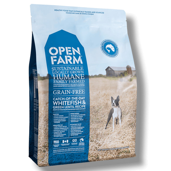 Open Farm - Grain-Free Catch of the Season Whitefish and Green Lentil Dry Dog Food