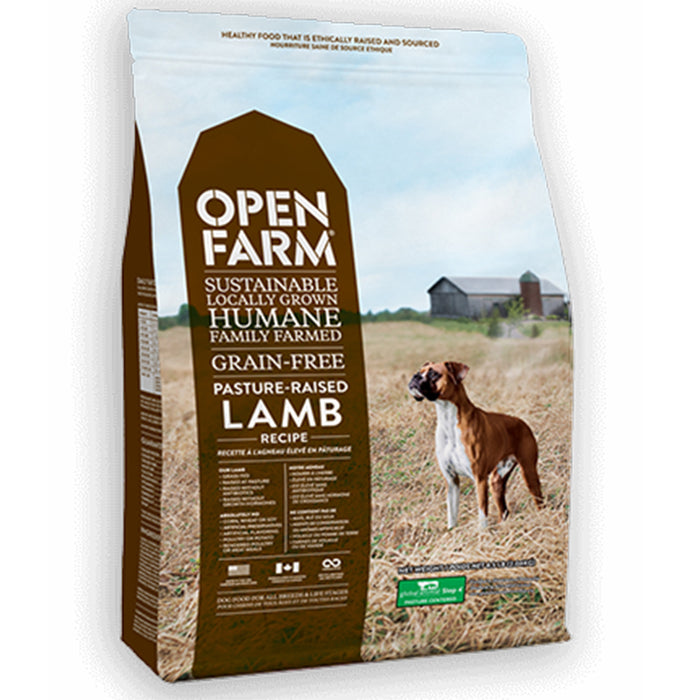 Open Farm - Grain-Free Pasture Raised Lamb Dry Dog Food