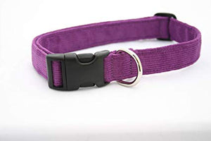 The Good Dog Company Hemp Corduroy Dog Collar (More Colors Available)