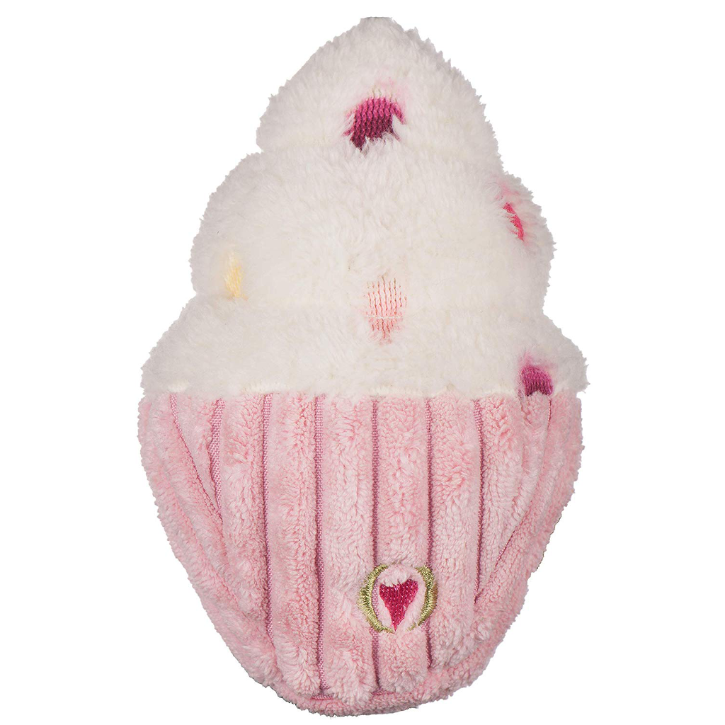HuggleHounds Birthday Cupcake Dog Toy
