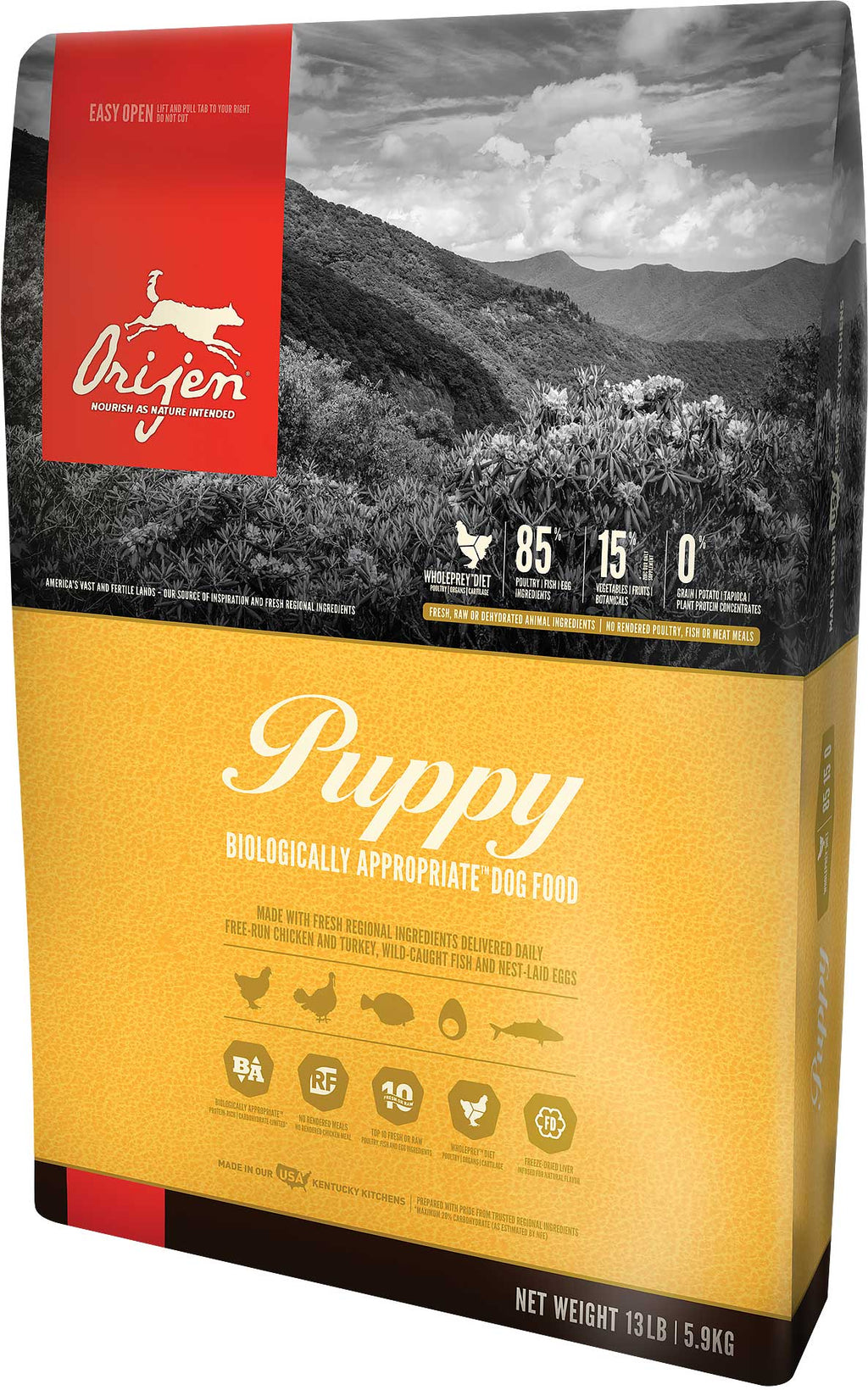 Orijen - Puppy Formula Dry Dog Food