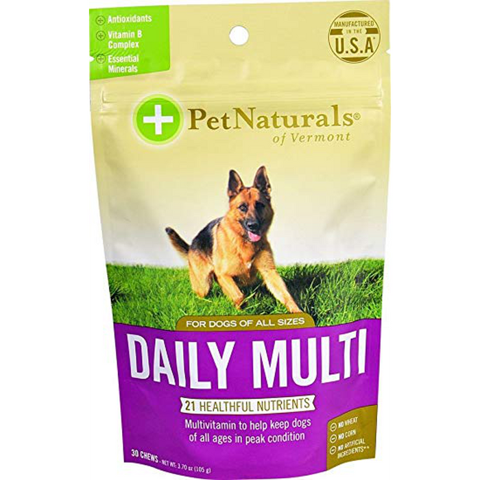 Pet Naturals of Vermont Daily Multi Dog Chews (30 ct)