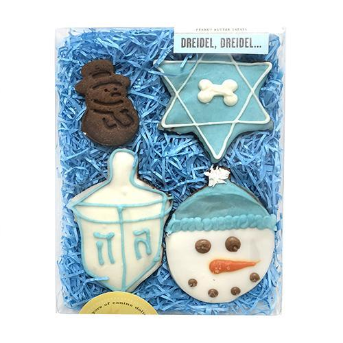 Bubba Rose - Dreidel, Driedel Dog Cookies Box