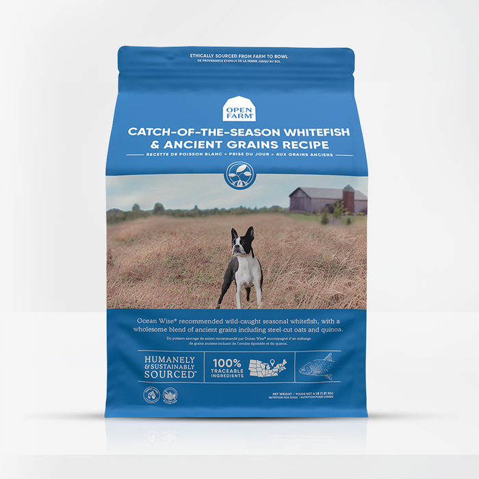 Open Farm - Catch-of-the-Season Whitefish & Ancient Grains Dry Dog Food (4lb Bag)*