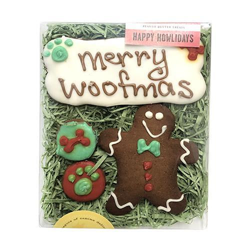 Bubba Rose - Merry Woofmas Dog Cookies Box