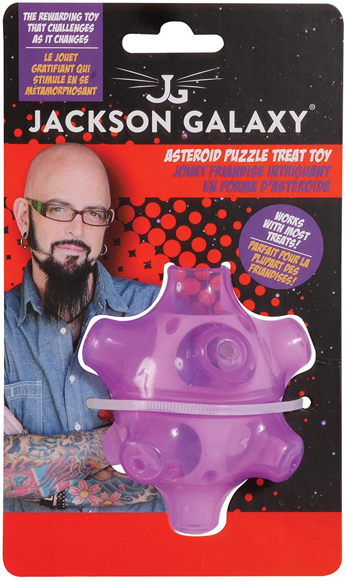 Jackson Galaxy - Asteroid Puzzle Treat Toy