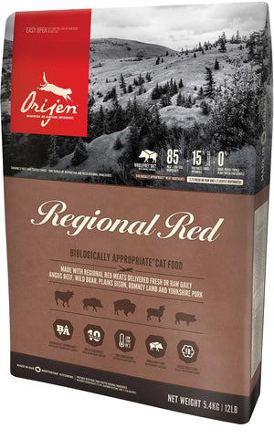 Orijen - Regional Red Grain-Free Dry Cat Food (4 lb)