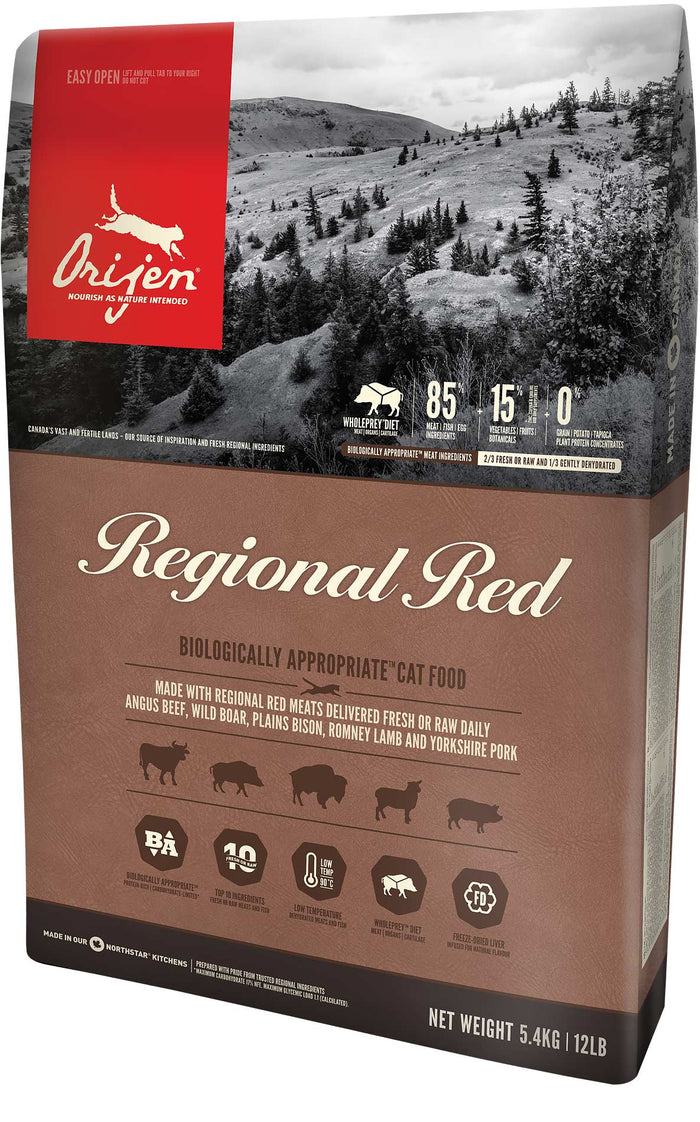 Orijen - Regional Red Grain-Free Dry Food for Cats (4 lb)