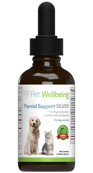 Pet Wellbeing - Thyroid Support Silver (2 fl oz)