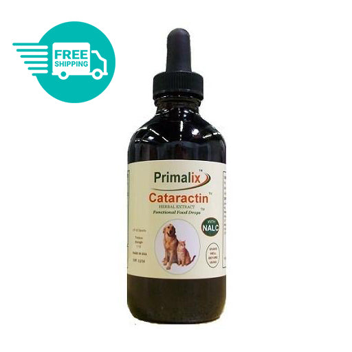 Natural Wonder Pet - Primalix Cataractin Food Drops for Cataracts in Dogs and Cats