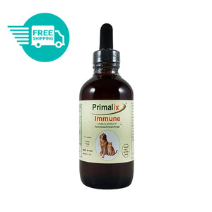 Natural Wonder - Primalix Immune Food Drops for Immune Support in Dogs and Cats
