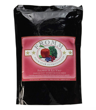 Fromm Four Star Salmon A La Veg Dry Dog Food (5lb Bag) *SPECIAL ORDER*