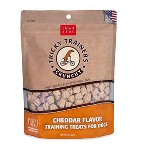 Cloud Star - Crunchy Cheddar Flavor Tricky Trainers Training Treats (8 oz)