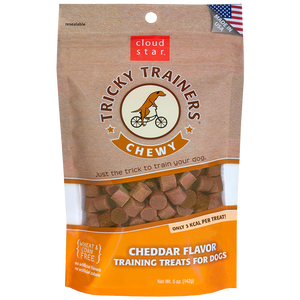 Cloud Star - Chewy Cheddar Flavor Tricky Trainers Training Treats (14 oz)