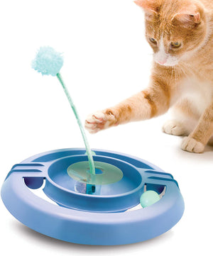 Wobble Track Cat Puzzle Toy by Petstages