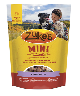 Zuke's - Mini Naturals Rabbit Recipe Training Treats (16 oz)