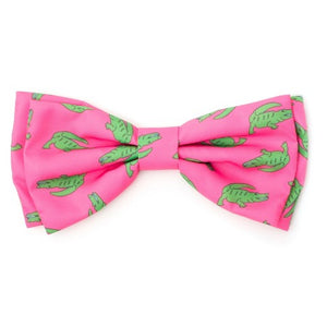 NEW! The Worthy Dog Al the Gator Bow Tie for Cats & Dogs