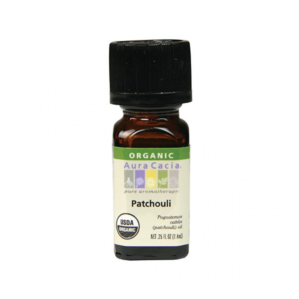 Aura Cacia - Organic Patchouli Essential Oil (0.25 fl oz)