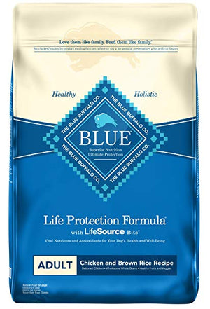 Blue Buffalo - Life Protection Formula Adult Chicken & Brown Rice Dry Dog Food (30 lb)
