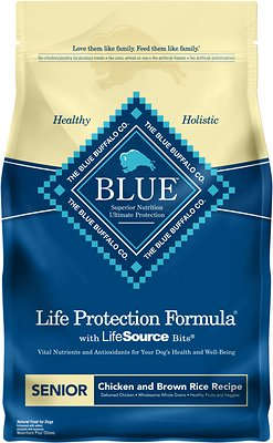 Blue Buffalo - Life Protection Formula Senior Chicken & Brown Rice Dry Dog Food*