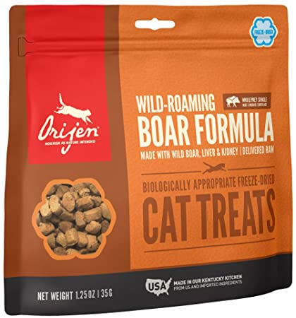 Orijen Freeze-Dried Wild Boar Cat Treat (1.25oz)