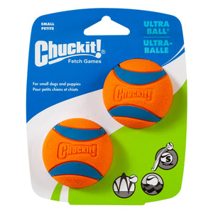 New! Chuckit! Ultra Ball 2-Pack Medium