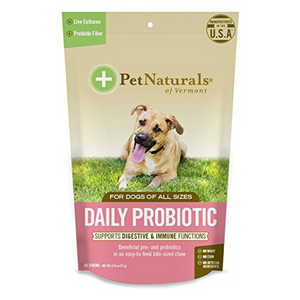 Pet Naturals of Vermont Daily Probiotic Chews For Dogs (60 ct)