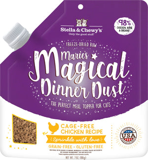 New! Stella & Chewy Marie's Magical Dinner Dust for Cats