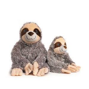 NEW! Fab Dog Fluffly Sloth Squeaker Dog Toy