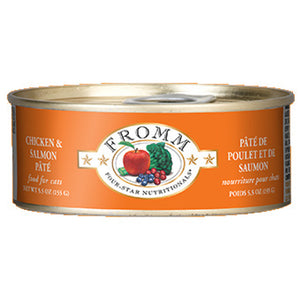 Fromm - Grain-Free Chicken & Salmon Pate Wet Cat Food (5.5 oz cans)