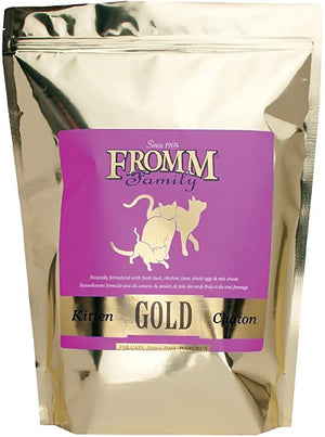 Fromm Gold Kitten Dry Cat Food (2.5lb)