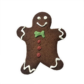 Bubba Rose Individually Wrapped Holiday Dog Cookie: Gingerbread Man