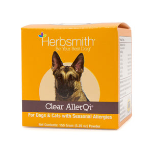 Herbsmith - Clear Allerqi for Dogs & Cats w/ Seasonal Allergies (150g Powder)