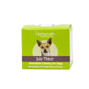 Herbsmith - July Third: Immediate Calming Supplement for Dogs