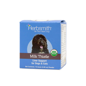 Herbsmith Milk Thistle Liver Support for Dogs & Cats (75g Powder)