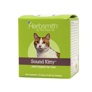 Herbsmith Sound Kitty Glucosamine Joint Support for Cats (75g Powder)