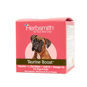 Herbsmith Taurine Cardiac Support for Dogs & Cats (150g powder)