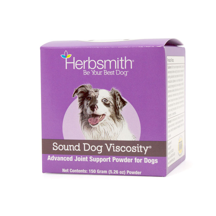 Herbsmith Sound Dog Viscosity Glucosamine Joint Support for Dogs (150g Powder)