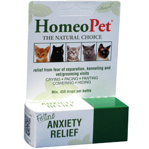 HomeoPet - Feline Anxiety Relief