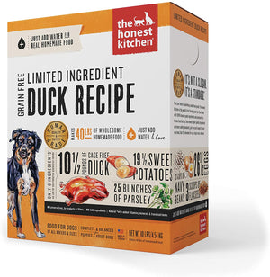 The Honest Kitchen Grain Free Limited Ingredient Sweet Potato & Duck